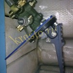 Клапан тормозной с педалью на фронтальный погрузчик CLG 862