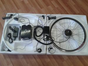 Мотор колесо, аккумулятор, контроллер для электровелосипеда