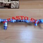 5259557 Рампа топливных форсунок (ISF2.8) с датчиком