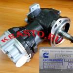 4932265,-5282444, 5268950 Компрессор воздушный KNORR-BREMSE LK3880 ( двигатель cummins ISF 3,8 1-цил.) Валдай, Foton, Iveko