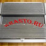 А073.00.010-20 (21) Радиатор охлаждения ГАЗ 3302 дигатель Cummins ISF 2.8 c интеркулером