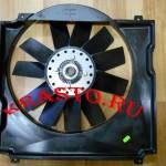 Кожух (диффузор) вентилятора на двигатель Cummins ISF 2.8 Газель - Бизнес (Next) МЭ237-37696