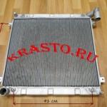 ЛР073.1301010-Радиатор-охлаждения-без-интеркулера-cummins-isf-2.8