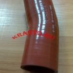 3302-1173111 Патрубок интеркулера (шланг силикованный угловой d=50) Газель-бизнес Cummins ISF 2.8