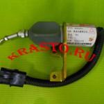 3974947,-4942879-Соленоид-(клапан,-глушиклка)-на-дизельный-двигатель-Cummins-6BT-5